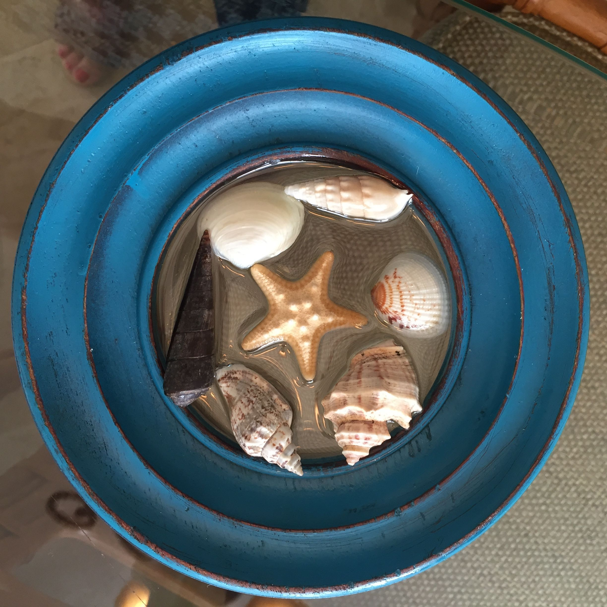 Image result for resin art with sea shells sea shells art