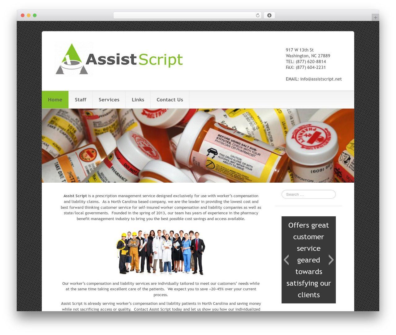 Go Daddy Cleanio best WordPress theme - assistscript.net | WordPress ...