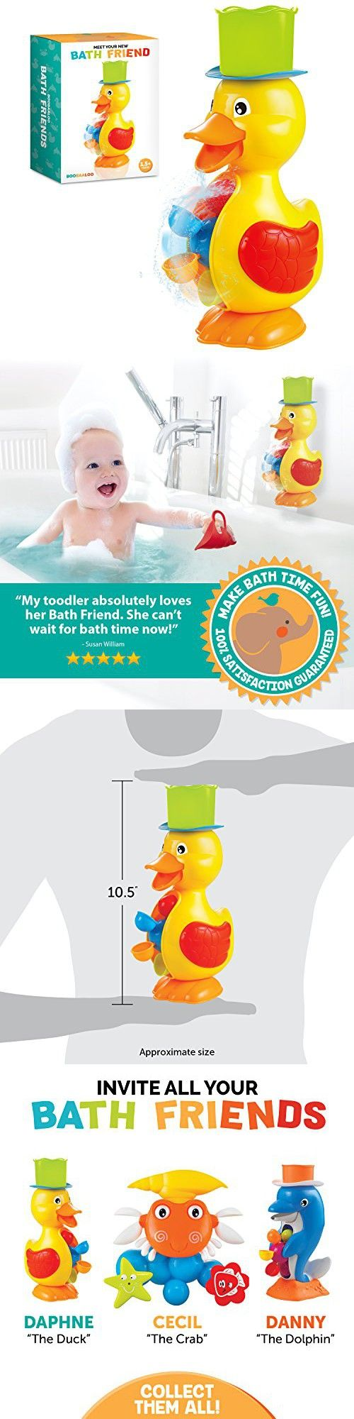 Baby toys images cartoon  Bath Friends Baby Bath Toys For Safe Educational Interactive and