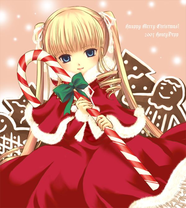 rozen maiden shinku christmas