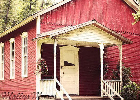 one room schoolhouse | Old school | Old school house ... Old One Room School Building
