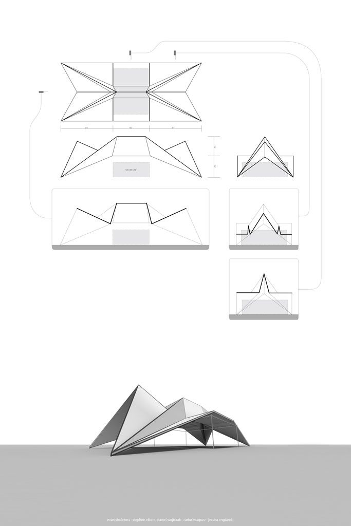 Folded Structure By Eshallx On DeviantART More