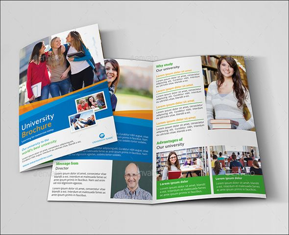 Bifold Brochure Template Word Bifold Brochure Template Indesign
