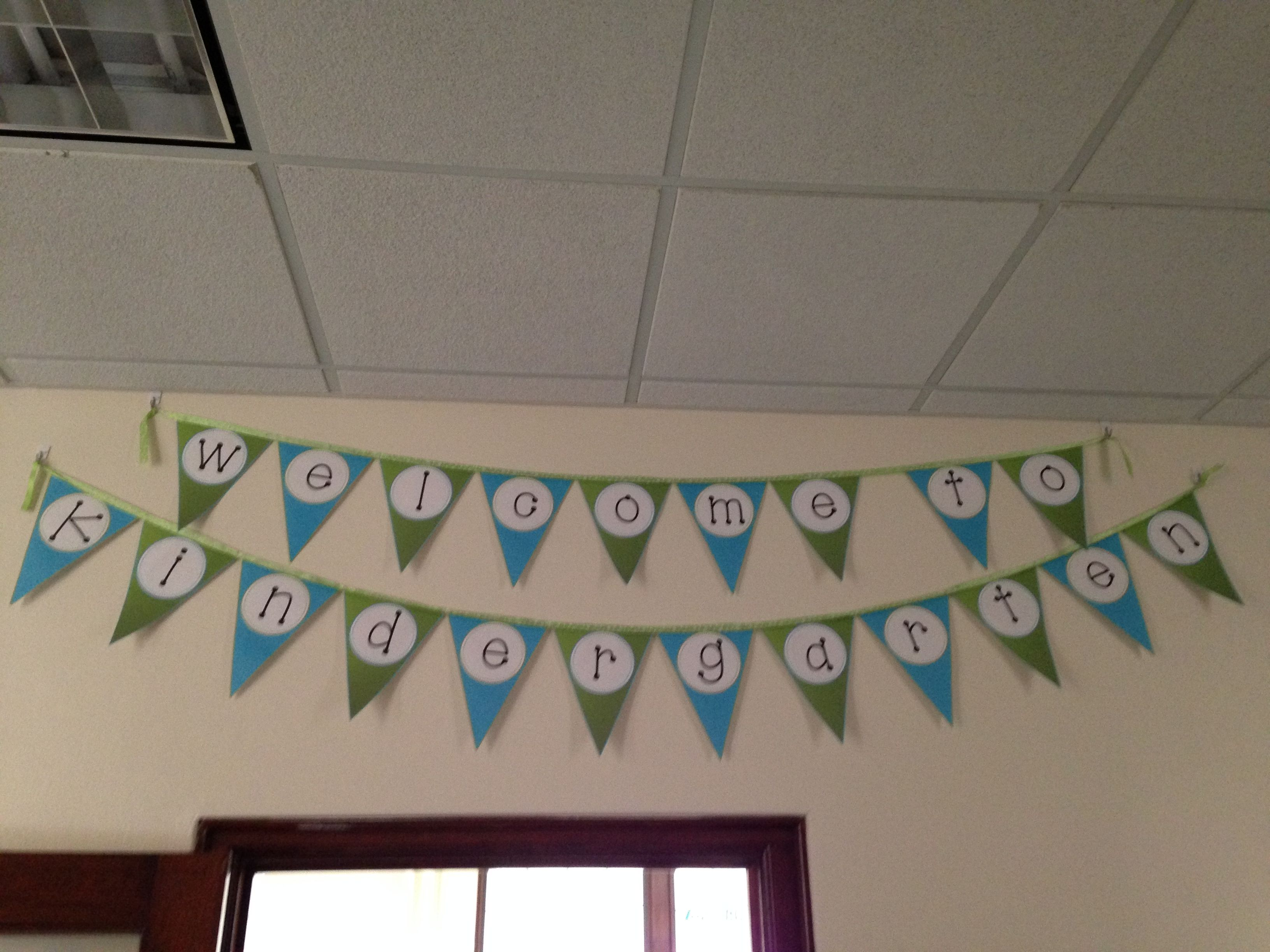 FREE Welcome to Kindergarten, 1st, 2nd, 3rd, 4th, or 5th Grade Banner
