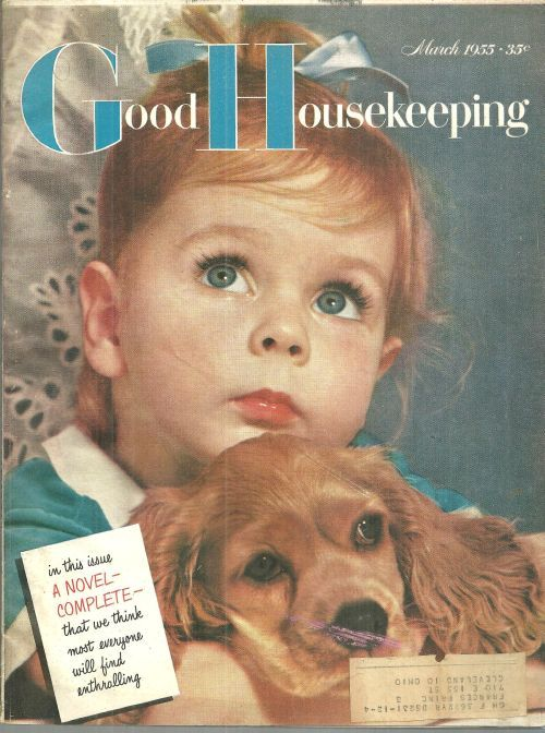 Good housekeeping magazine march 1955 vintage magazines for Good house magazine