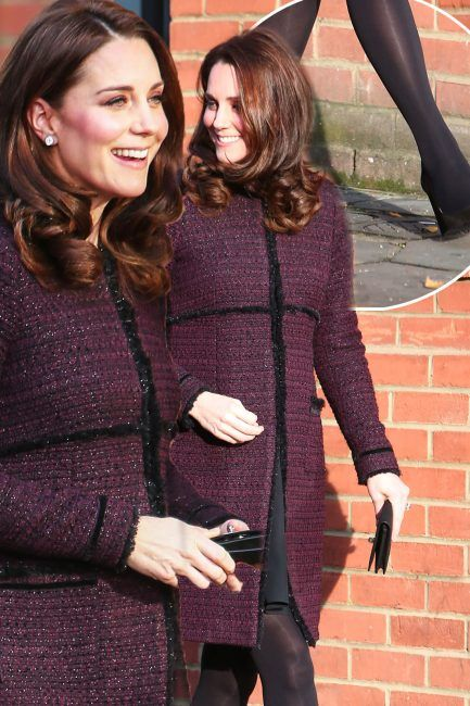 c9dde126cf3d Kate Middleton pregnant  The Duchess Of Cambridge accidentally reveals her  secret hack behind wearing high heels while pregnant after sparking worry  among ...