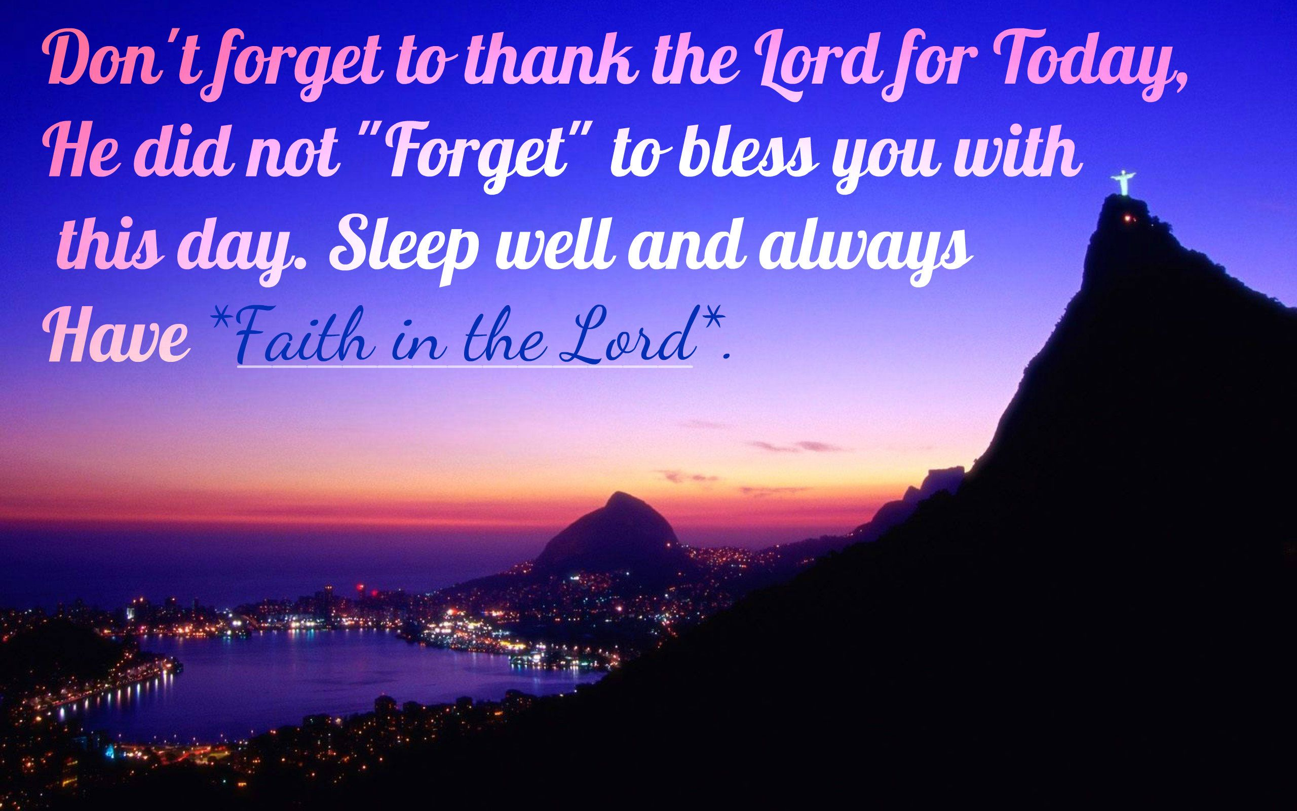 Good Night Blessings Images And Quotes: Christian Night Prayer