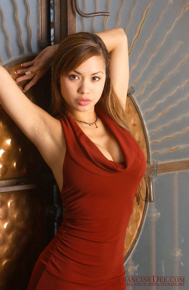 Asian beauty francine dee strips for you
