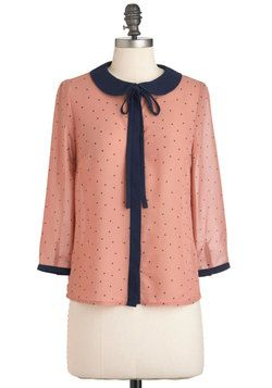 Frilled to the Trim Top, #ModCloth