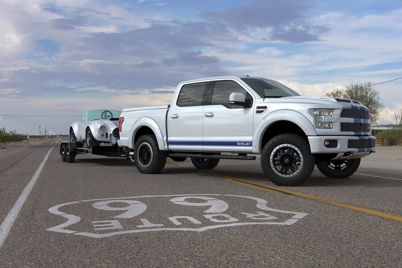 Shelby Brings 700 Horsepower 2016 Ford F 150 To Sema Shelby Ford F150 Ford Trucks