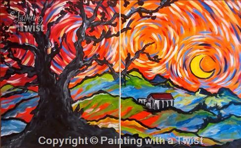 Painting With A Twist PWAT PaintingWithATwist