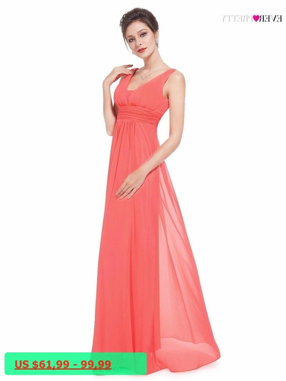 Big sales bridesmaid dress ever pretty ep a line long deep v