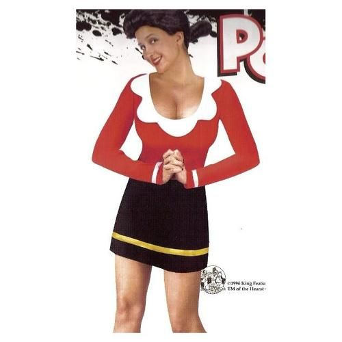 popeye olive oyl oil adult halloween costume wig 346622166 best prices with wu pay
