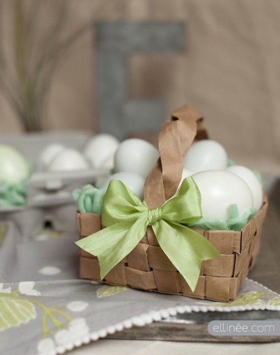 Great eco recycled easter baskets easter baskets easter and brown great eco recycled easter baskets negle Images