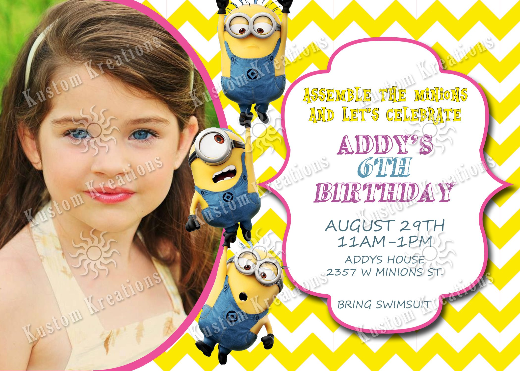 minions birthday invitations minion birthday invitations