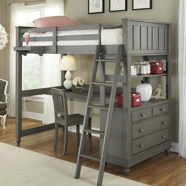 aba531077bb3 You ll love the Hatcher Loft Bed at Birch Lane - With Great Deals on all  products and Free Shipping on most stuff