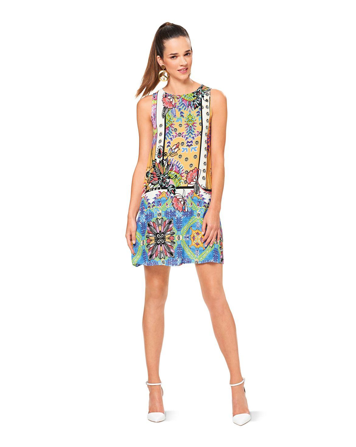 Hänger-Kleid F/S 2017 #6541C   Pinterest   Burda style, Rücken und ...