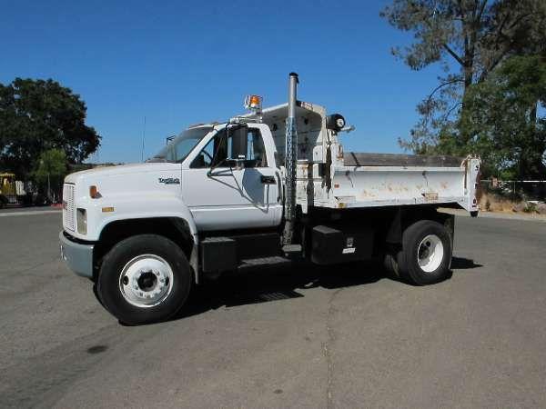 Used 1991 Gmc Dump Truck Topkick Dump Truck For Sale In Ca Truck