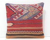 This item is unavailable red pillow ethnic cushion boho pillow couch pillow case easter