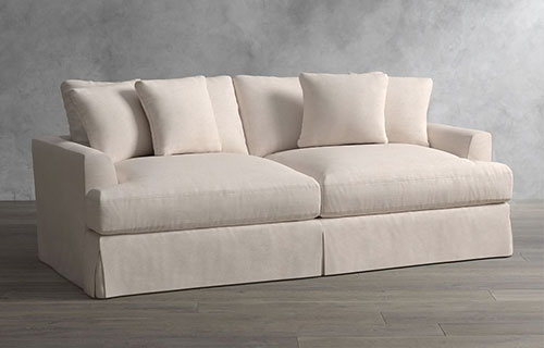 Sofas And Sectionals Fabric Sofas Pottery Barn Sofa