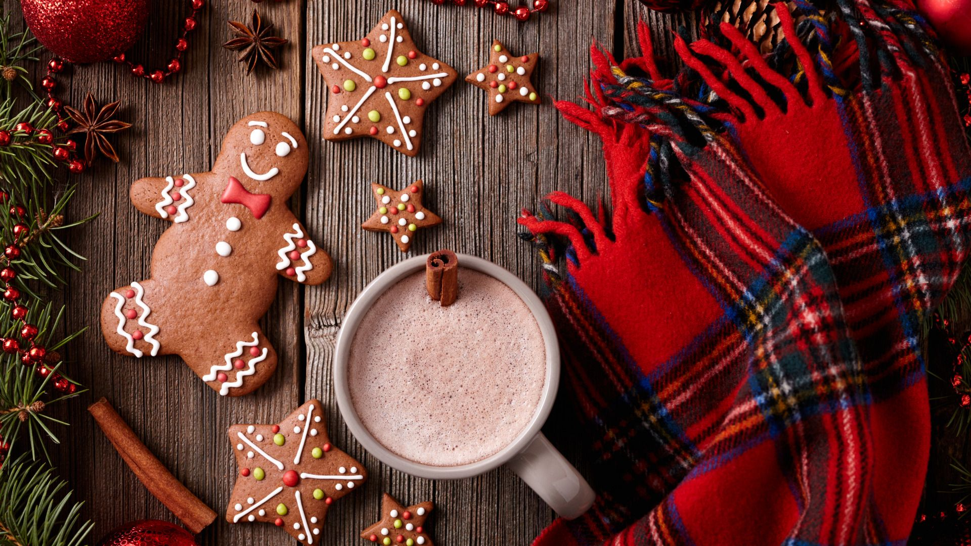 Обои christmas, cookies, decoration, рождество, xmas, Merry. Новый год foto 8