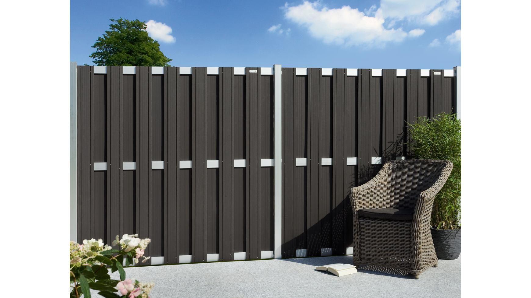 MR. GARDENER WPCBohlenzaun »Design 180x180cm