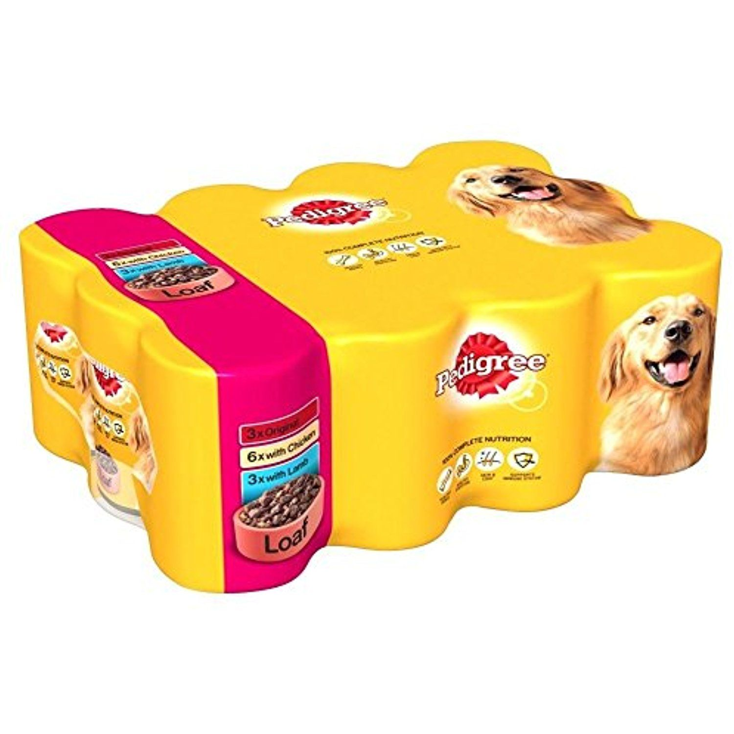 Pedigree Loaf With Tripe Variety Pack 12x400g Please Be Sure