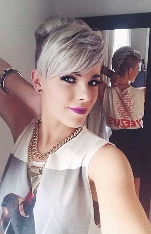 Astonishing 1000 Images About Shaved Side Short Hairstyles On Pinterest Short Hairstyles For Black Women Fulllsitofus