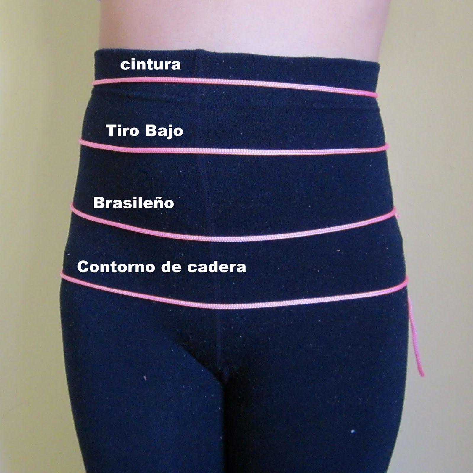 Tipos de altura de pantalón.| EL BAÚL DE LAS COSTURERAS
