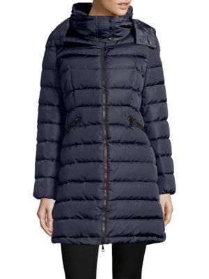 MONCLER Flammette Puffer Jacket. #moncler #cloth #jacket | Moncler | Pinterest | Moncler, Puffer jackets and Coats