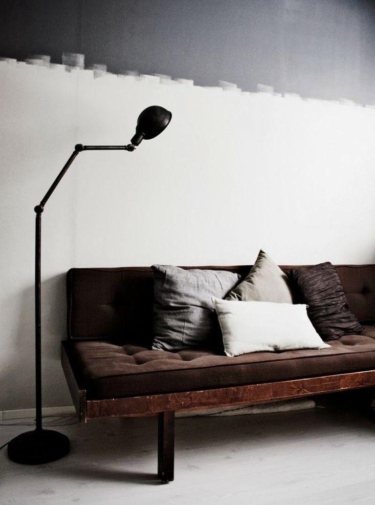 WALL PAINT White Gray Wall Jagged Edge BD Pinterest Murs - Peindre Un Mur Interieur