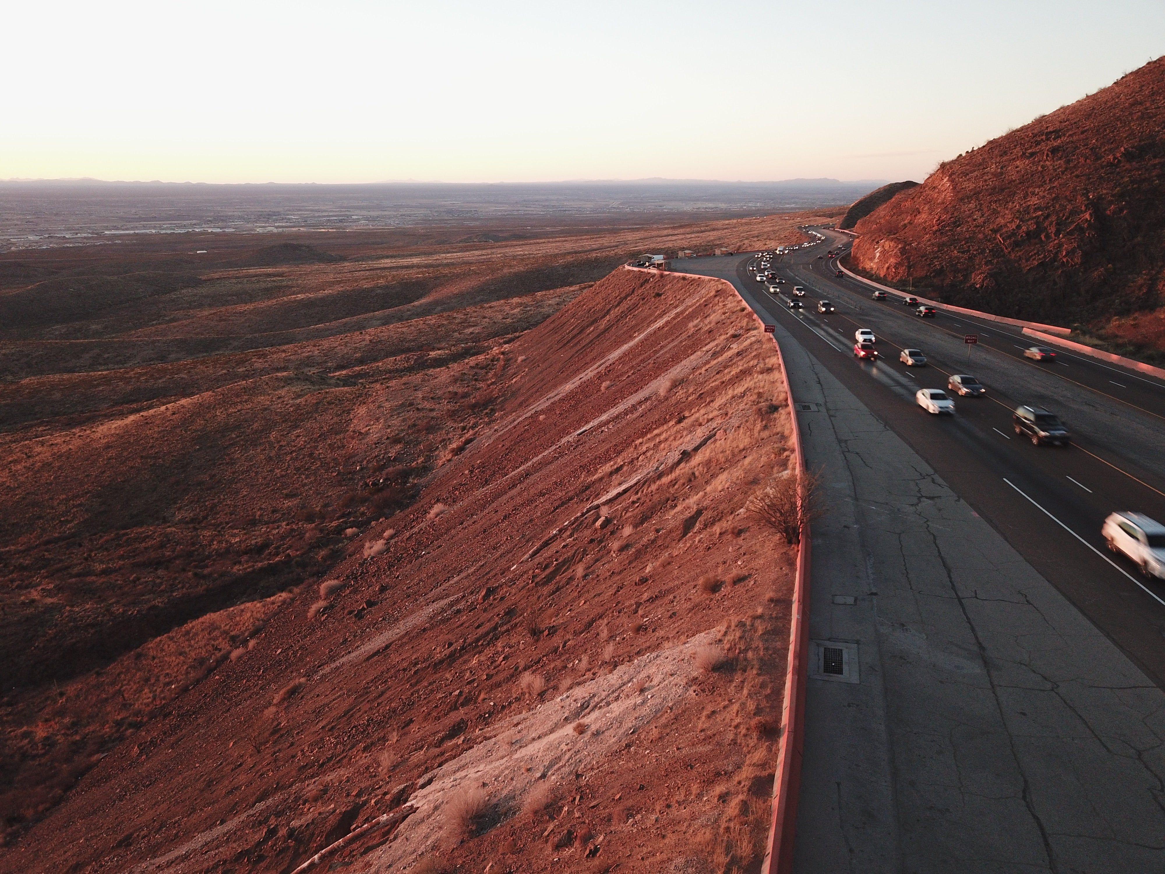 Trans Mountain Road El Paso Texas Photo Credit To M Angie Salazar Scenic Road Trip Scenic Roads Texas Photo