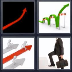 4 Fotos 1 Palabra Flecha Roja 4 Fotos 1 Palabra Palabras Letras