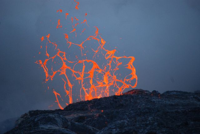 Jeffrey Brown Rock Pinterest Volcano And Earth Space - 14 amazing volcanic eruptions pictured space