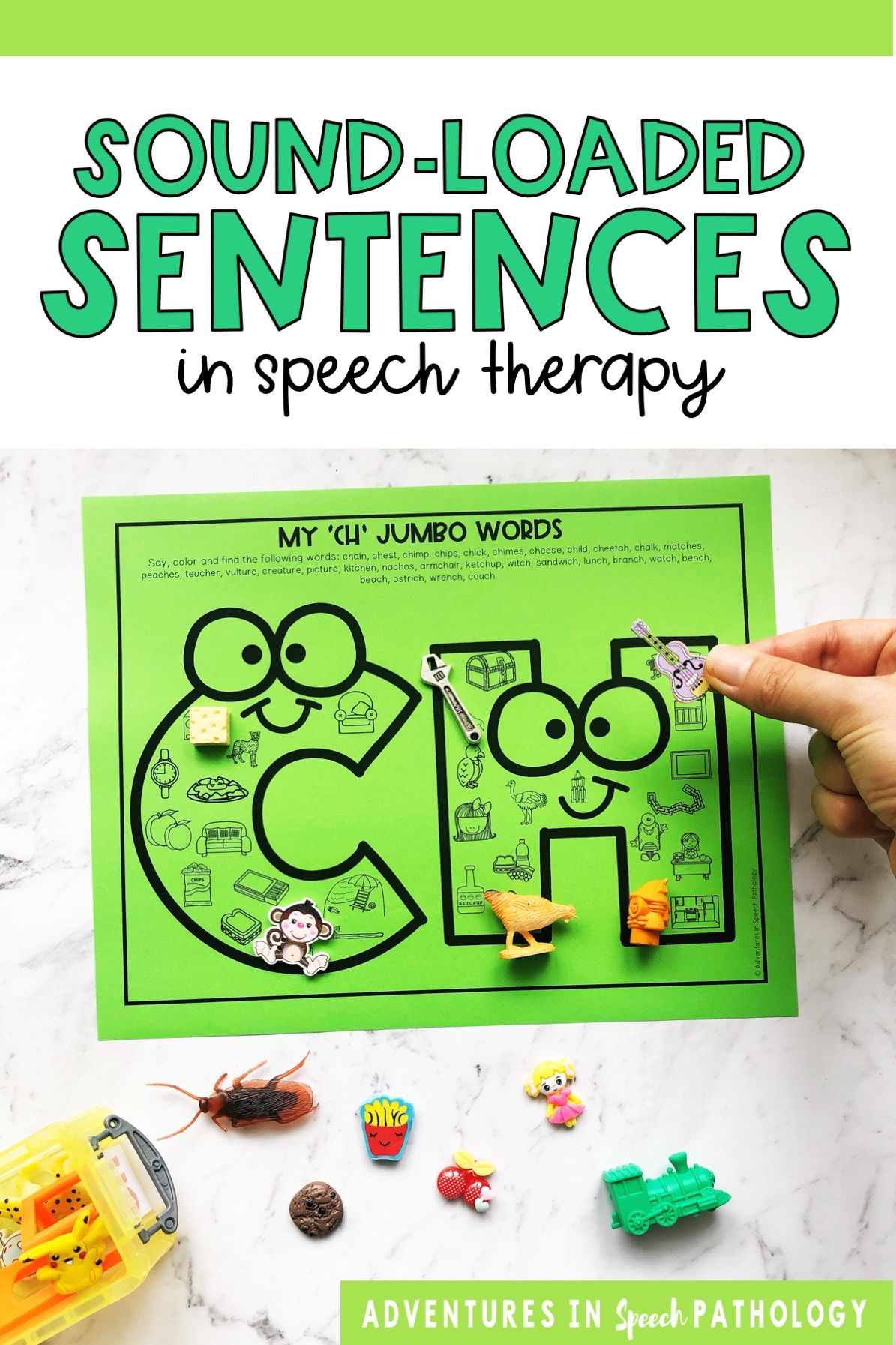 Speech Therapy Activities For Sentences In