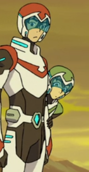 Take a moment to appreciate Pidge holding onto Keith's arm as she peeks around the corner to look at the forming Crystals on the Balmera. LOOK AT HOW SMALL SHE IS COMPARED TO KEITH. I'M SCREAMING....