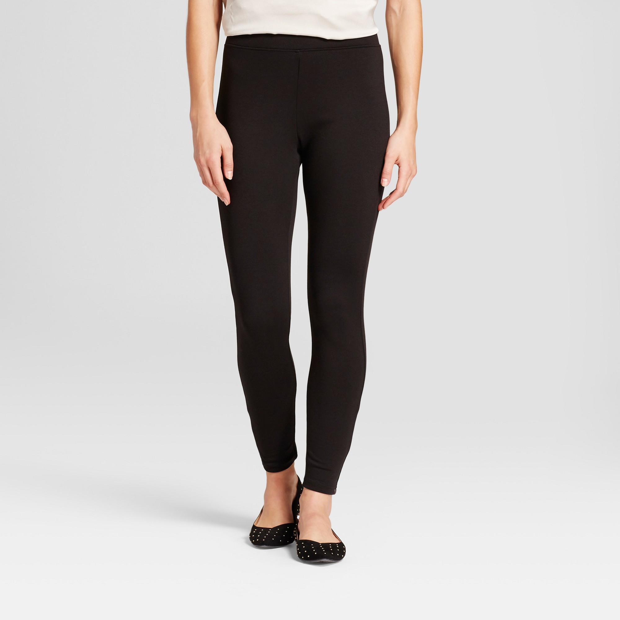 4a56d715b7f58 Women's Solid Ponte Jeggings - A New Day Black XL | Products | Ponte ...