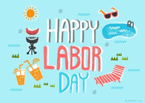 Happy Labor Day Postcard | Labor Day eCard | Blue Mountain eCards #labordayquotes