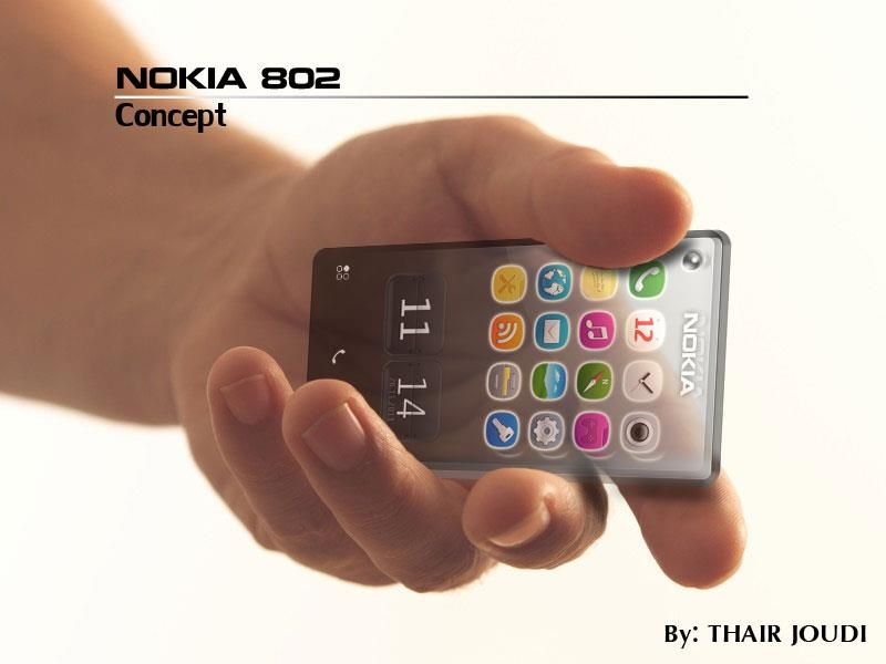 Nokia 802 Concept is Transparent, Features… Symbian | High