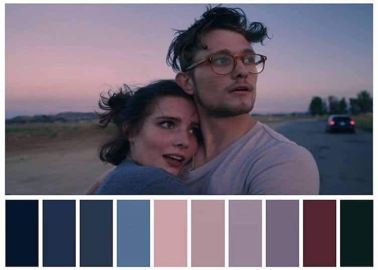 Design Lover Reveals Striking Color Palettes Of Beloved Tv Shows Films And Music Videos Movie Color Palette Cinema Colours Color Film