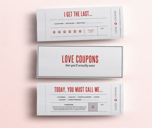 Blank Coupon Template Print Out These Christmas Gift Coupons For