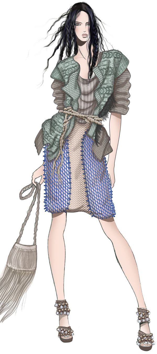 1000+ images about knitwear illustraion on Pinterest