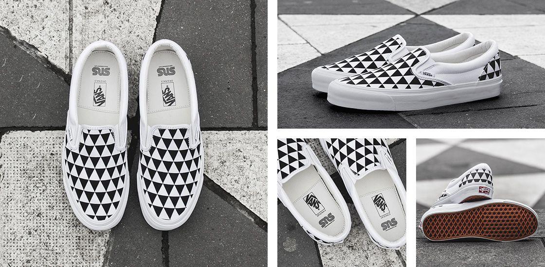 "9780ea7189 Sneakersnstuff x Vans OG Classic Slip-On LX ""Stockholm"""