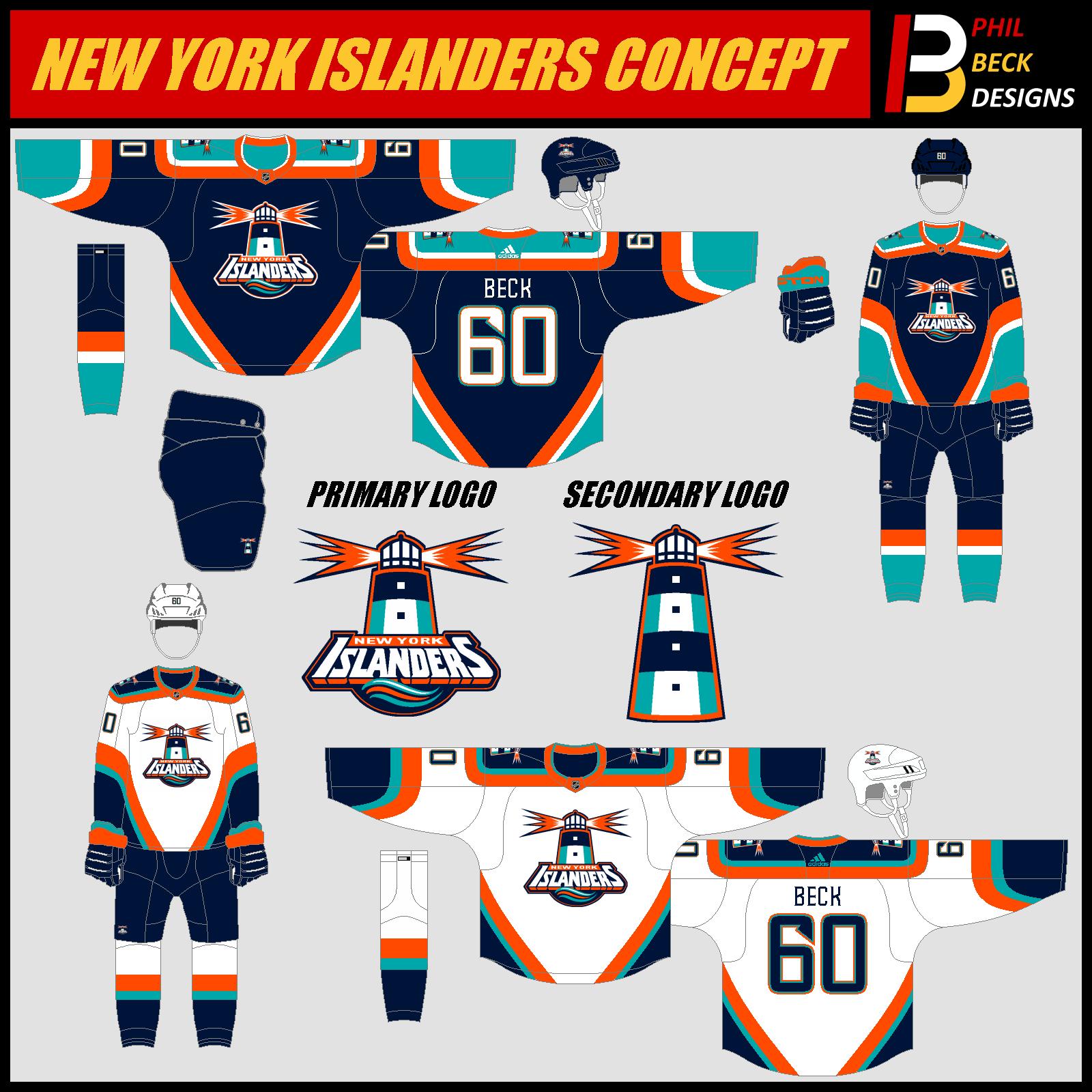 New+York+Islanders+Redesign | Hockey Jerseys | Pinterest | Ice hockey
