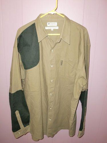 Columbia Briarshun Hunting Shoooting L s Men's Button Front Shirt Size 2XL XXL   eBay