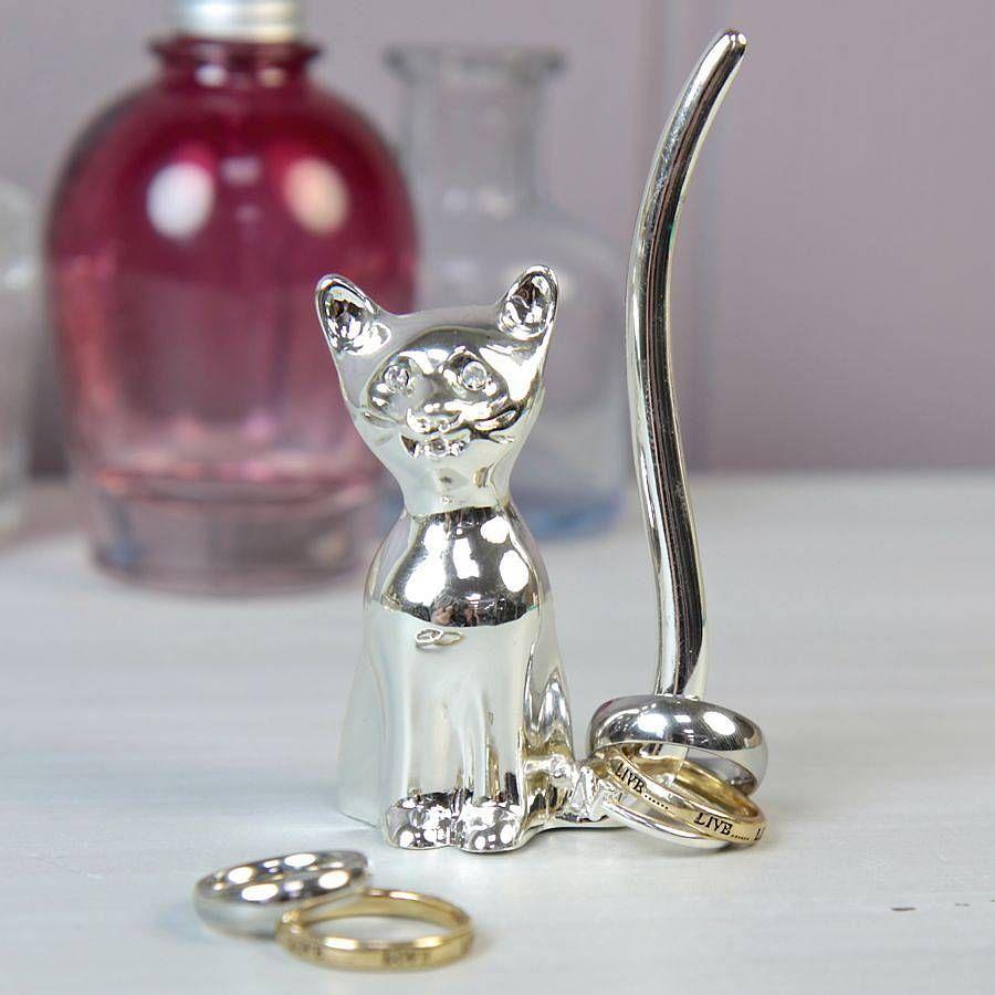 cat ring holder  my christmas  birthday list  pinterest  dogs  - cat ring holder