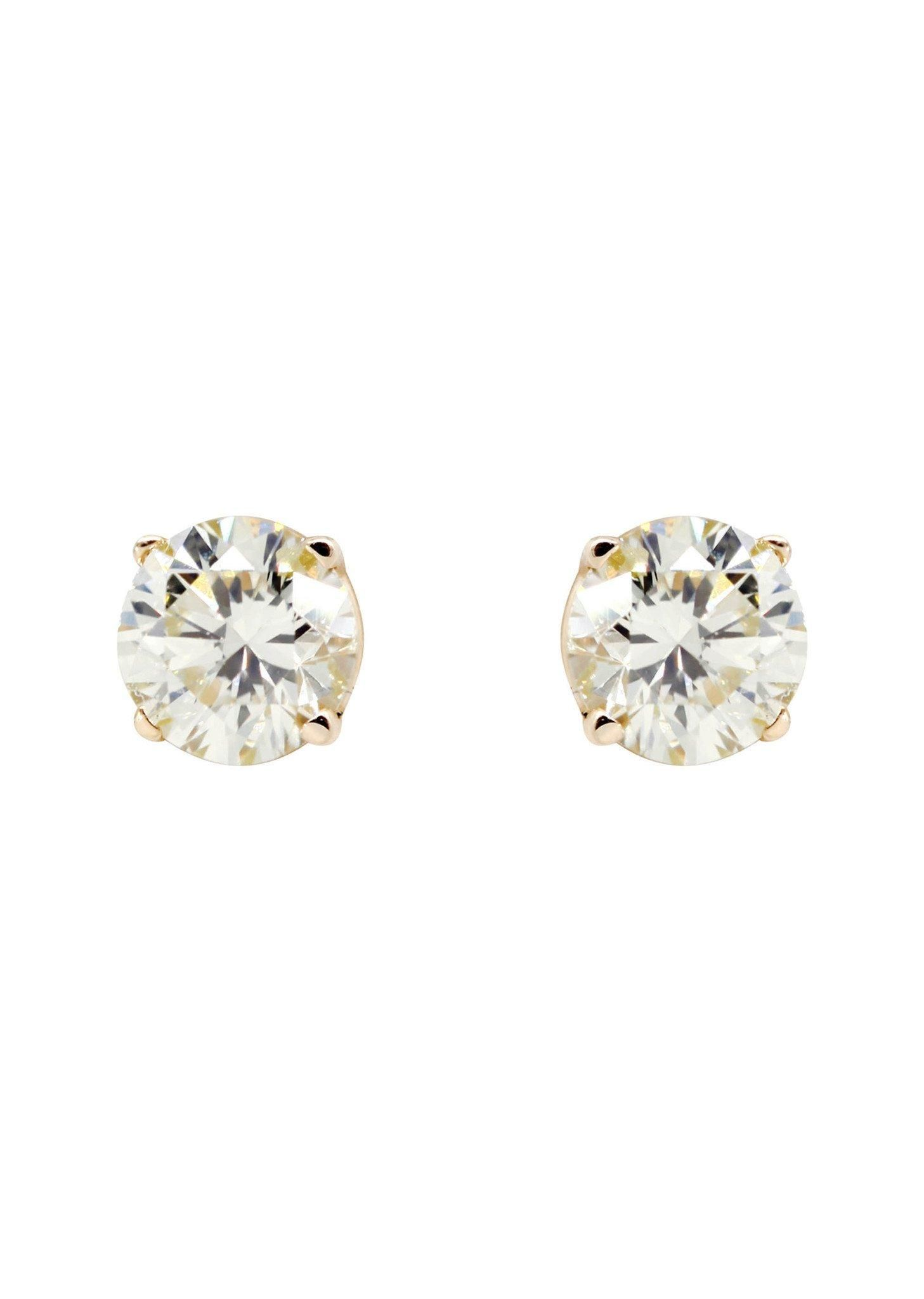 Adorewe Frostnyc Jewelry Frost Nyc Round Diamond Stud Earrings 0 26 Carats