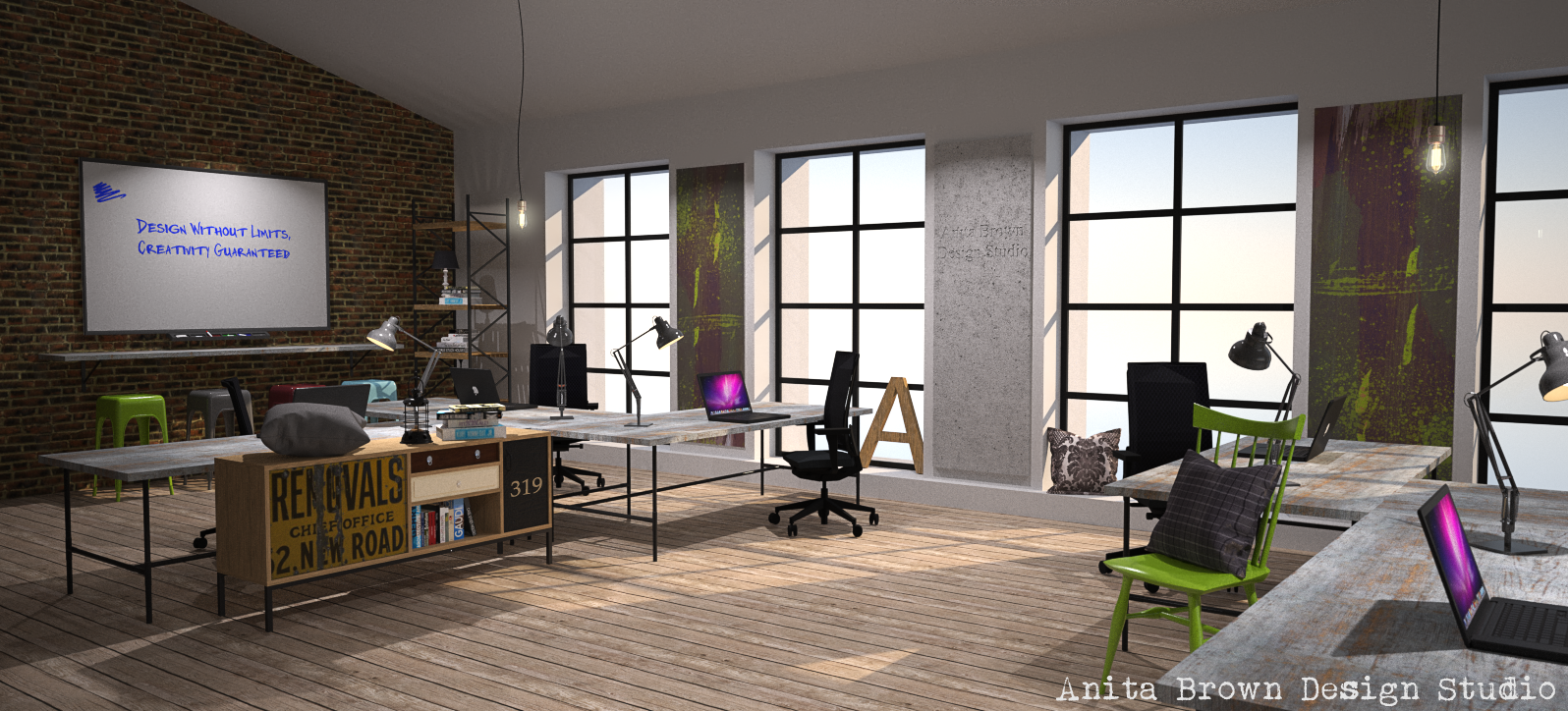 chic office design. Urban-chic-office-design-2.png (1596×724) Chic Office Design Pinterest