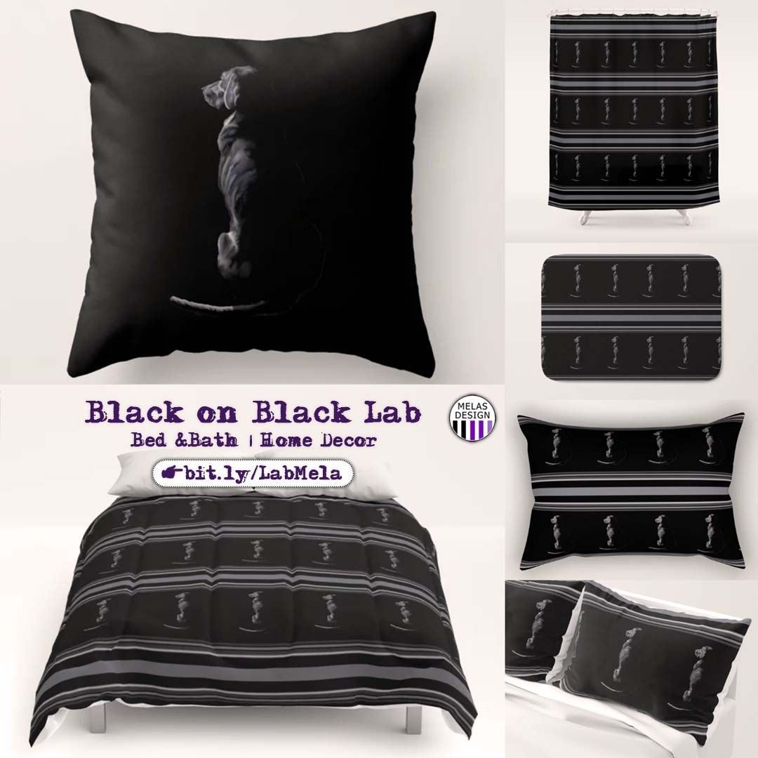 Shop Matching Bedding And Bath Sets With The Graceful Black On