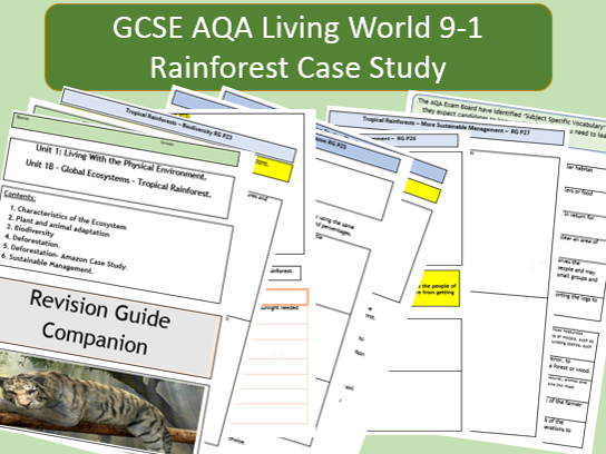 AQA GCSE 91 Flipped Learning Revision Guide Companion